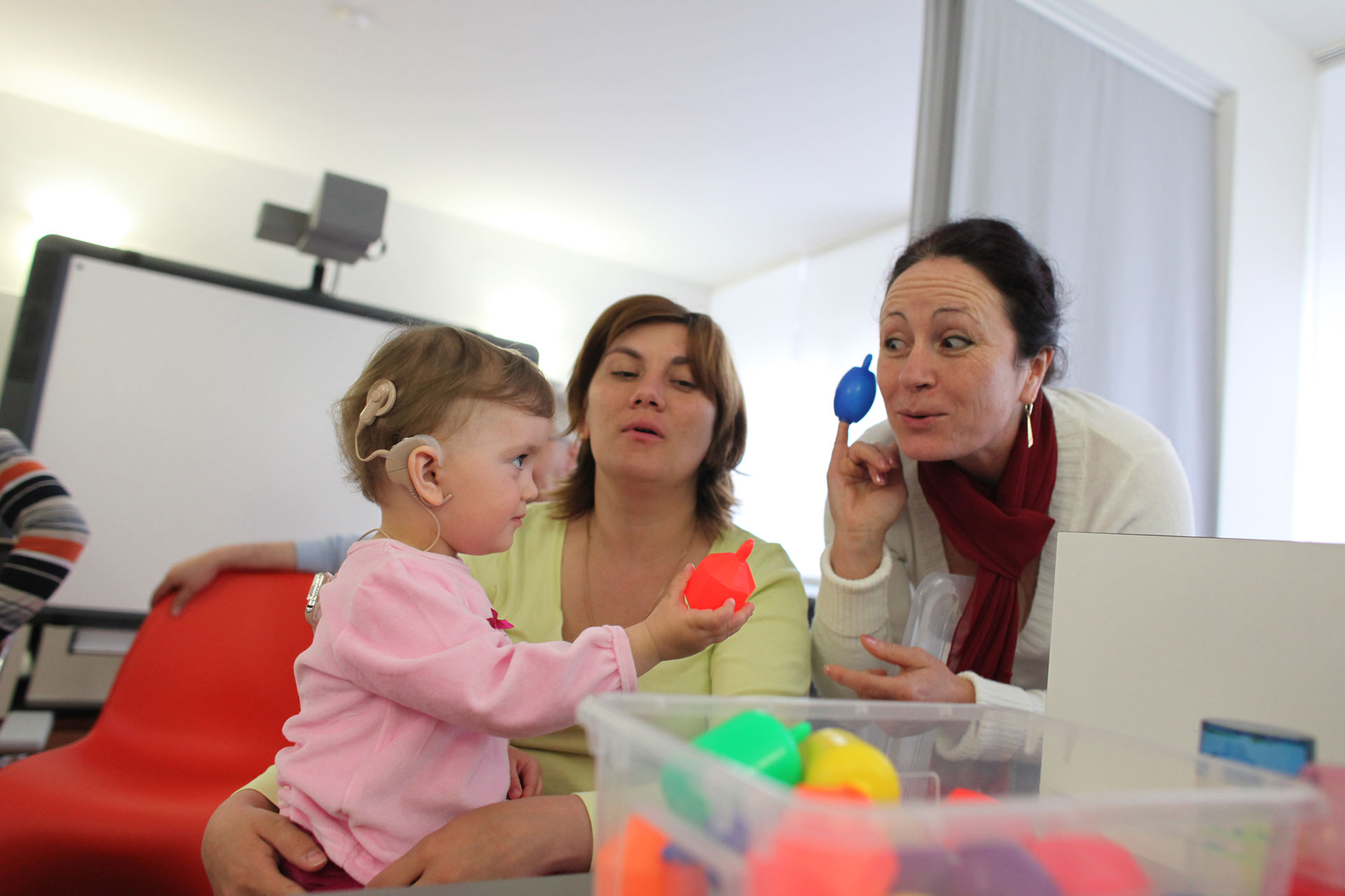Cochlea-Implantat bei Kindern